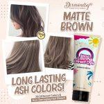 Dixmondsg Matte Brown Hair Dye